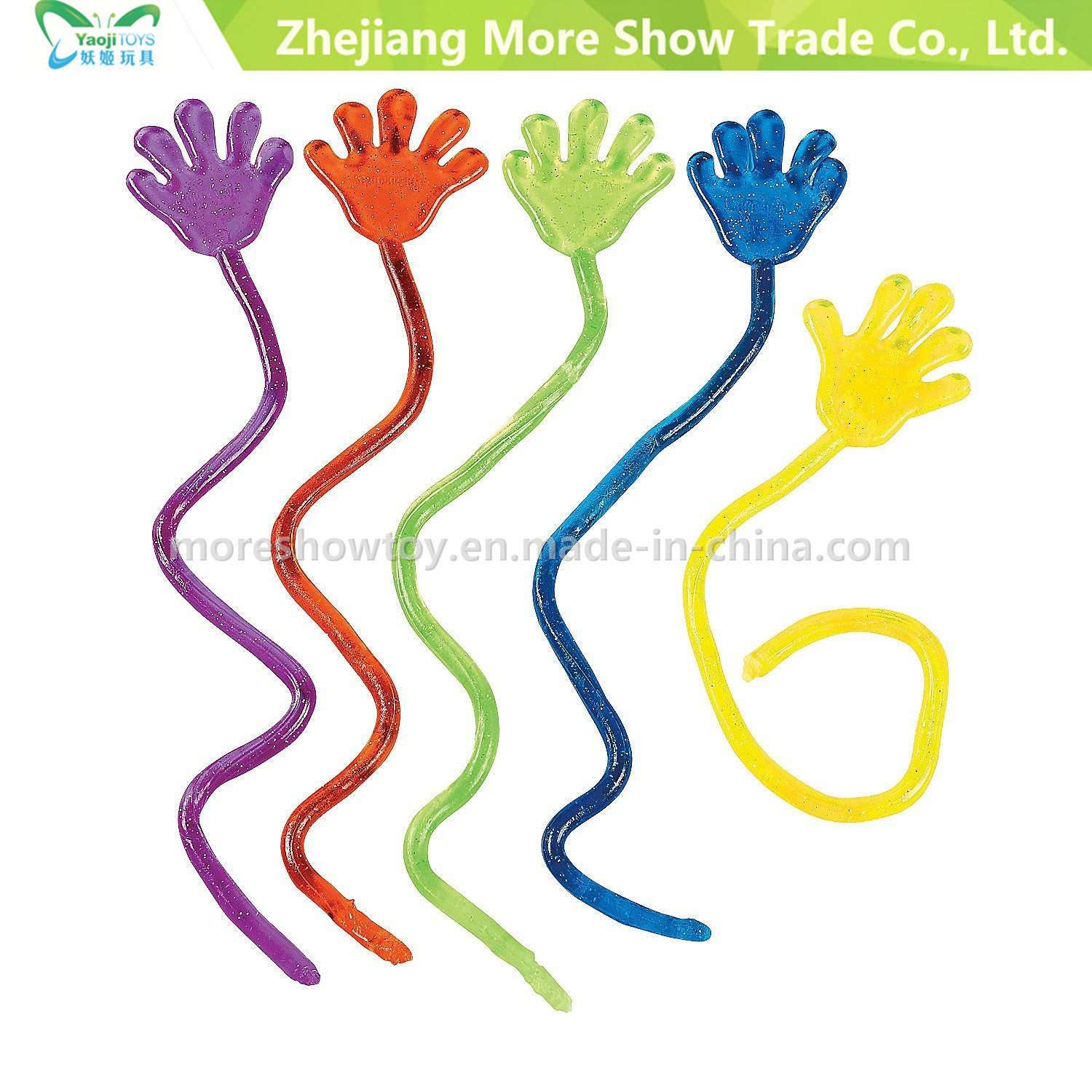 Mini Sticky Hands Kids Party Favours Toys Vending Novelty
