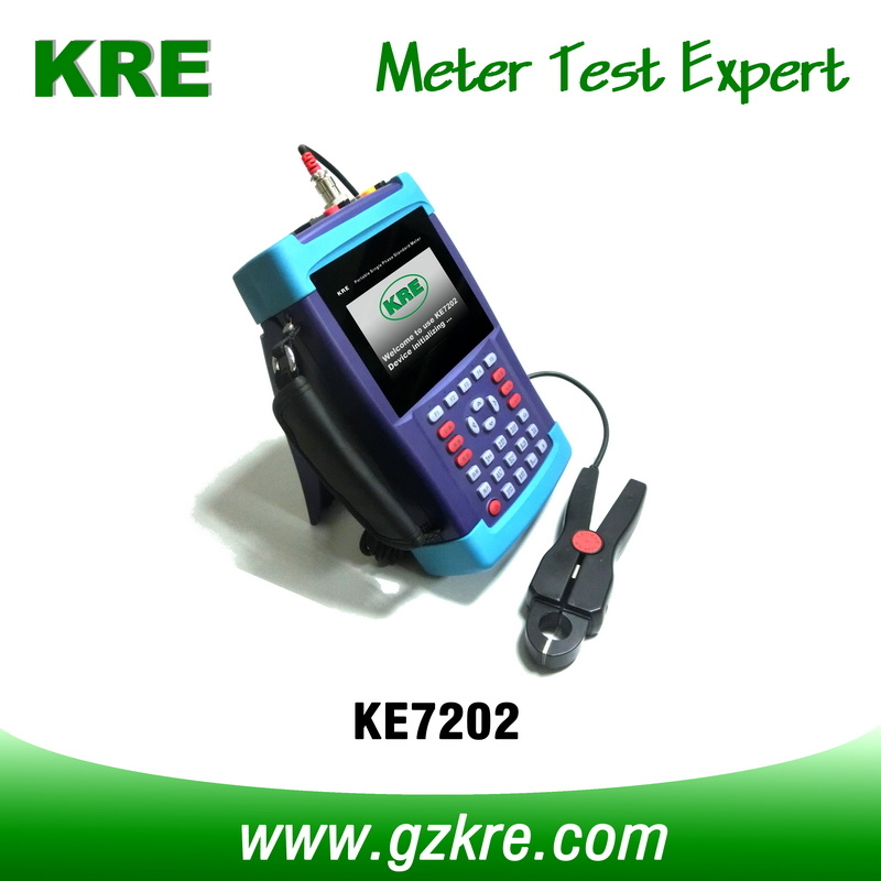 Class 0.1 Portable Single Phase Standard Meter with Terminal and Clamp CT Current Input
