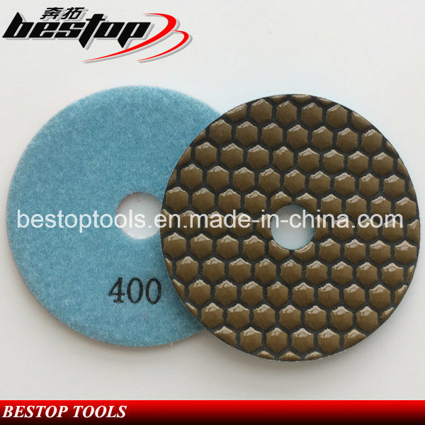 100mm Floor Diamond Flexible Polishing Pads for Stone