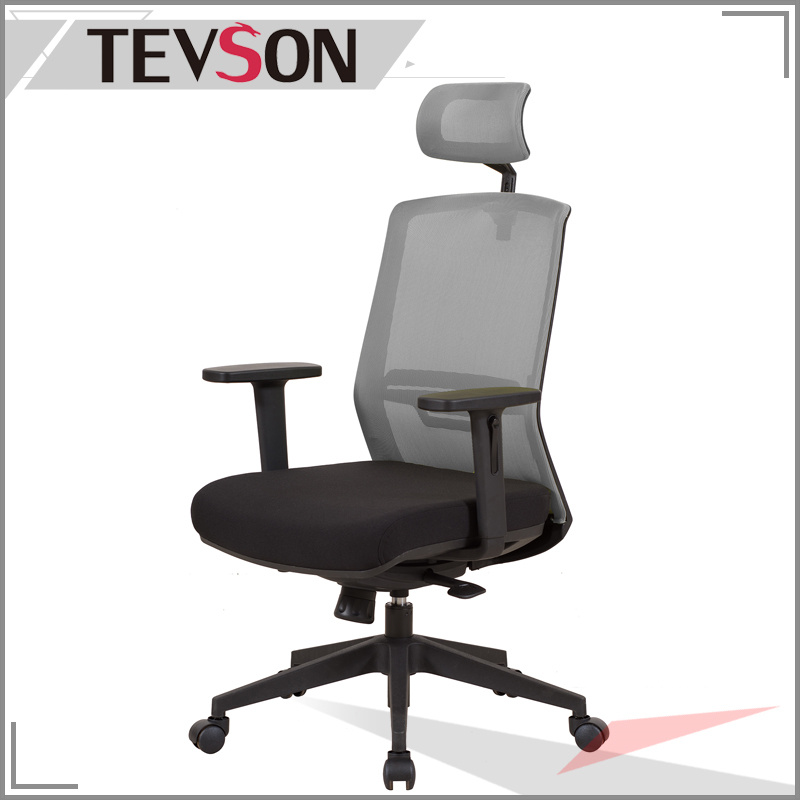 Modern and Soft High Back Office Manager Chair with Plastic Outer Shell