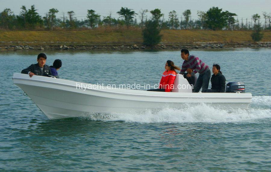 5.88m FRP Japanese Panga Fishing Boat Hangtong Factory-Direct