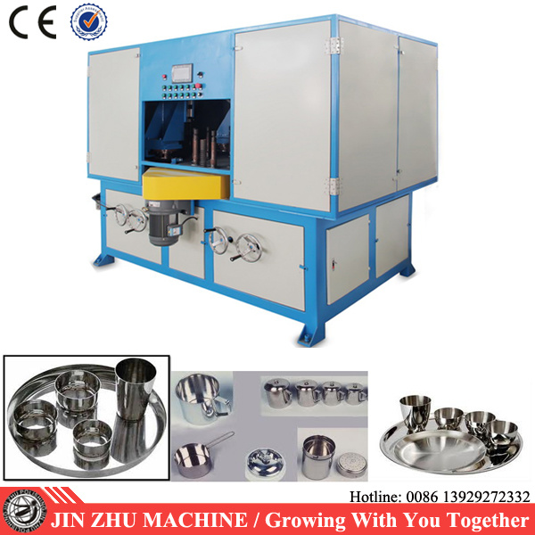Rotary Table Buffing Machine