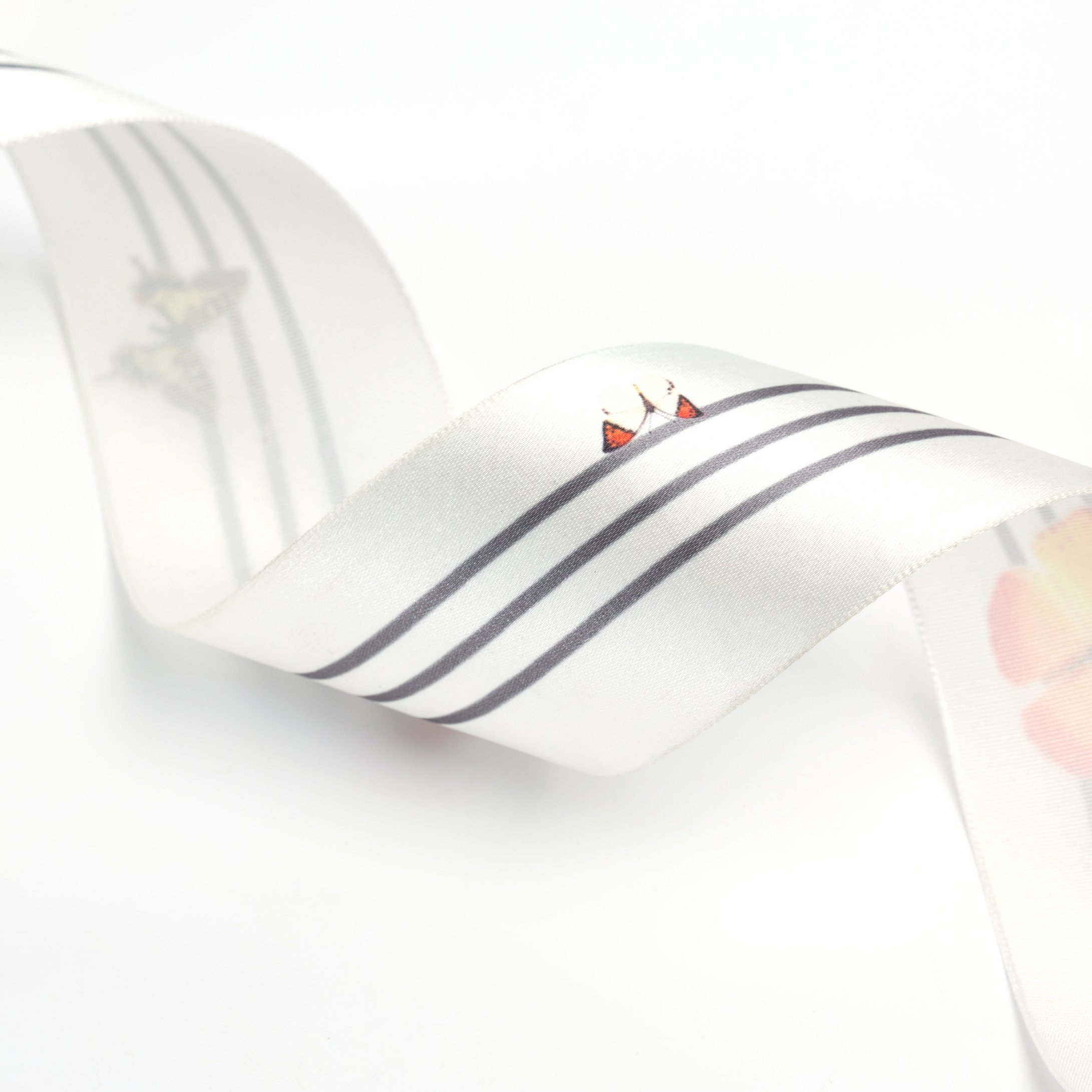 The Butterfly Printed Ribbon for Garments and Bags