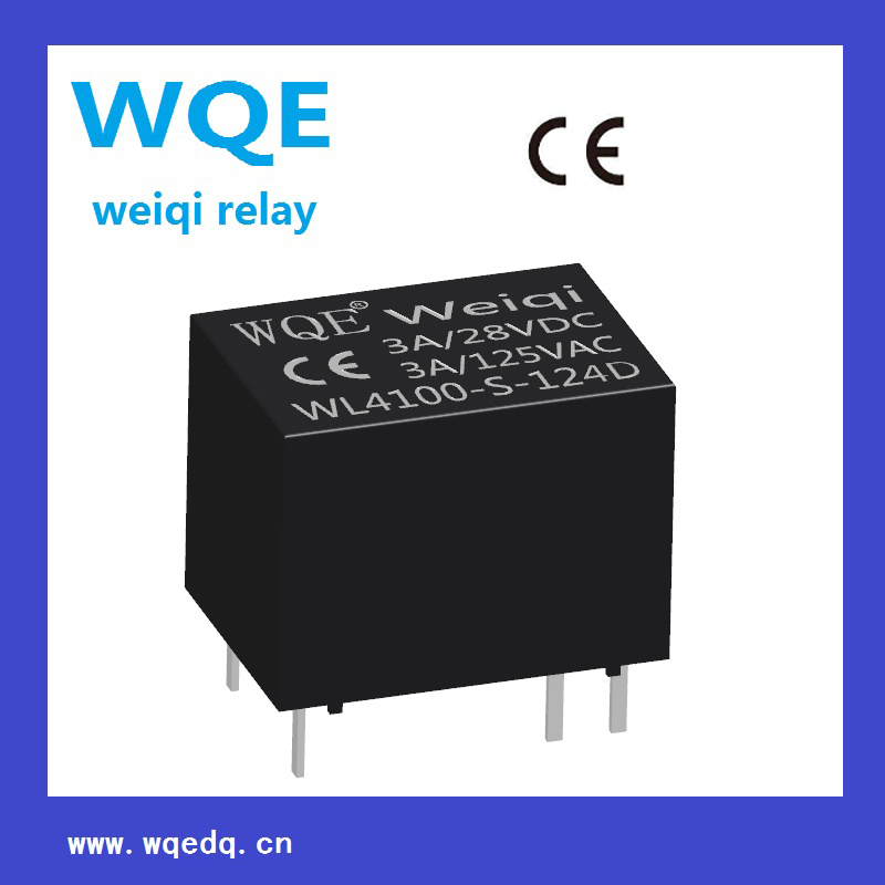 (WLF4100) Miniature Size Communication Reed Relay AG Gold-Plated Contacts Widely Used Relay