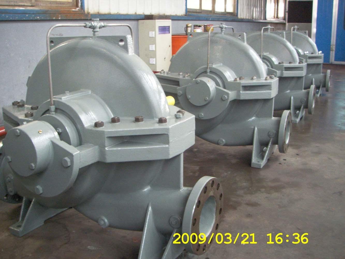 API610 Standard Bb1 Axially Split Case Pumps