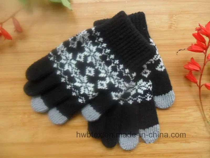 Custom Winter Magic Texting Touch Screen Gloves (HWBG02)