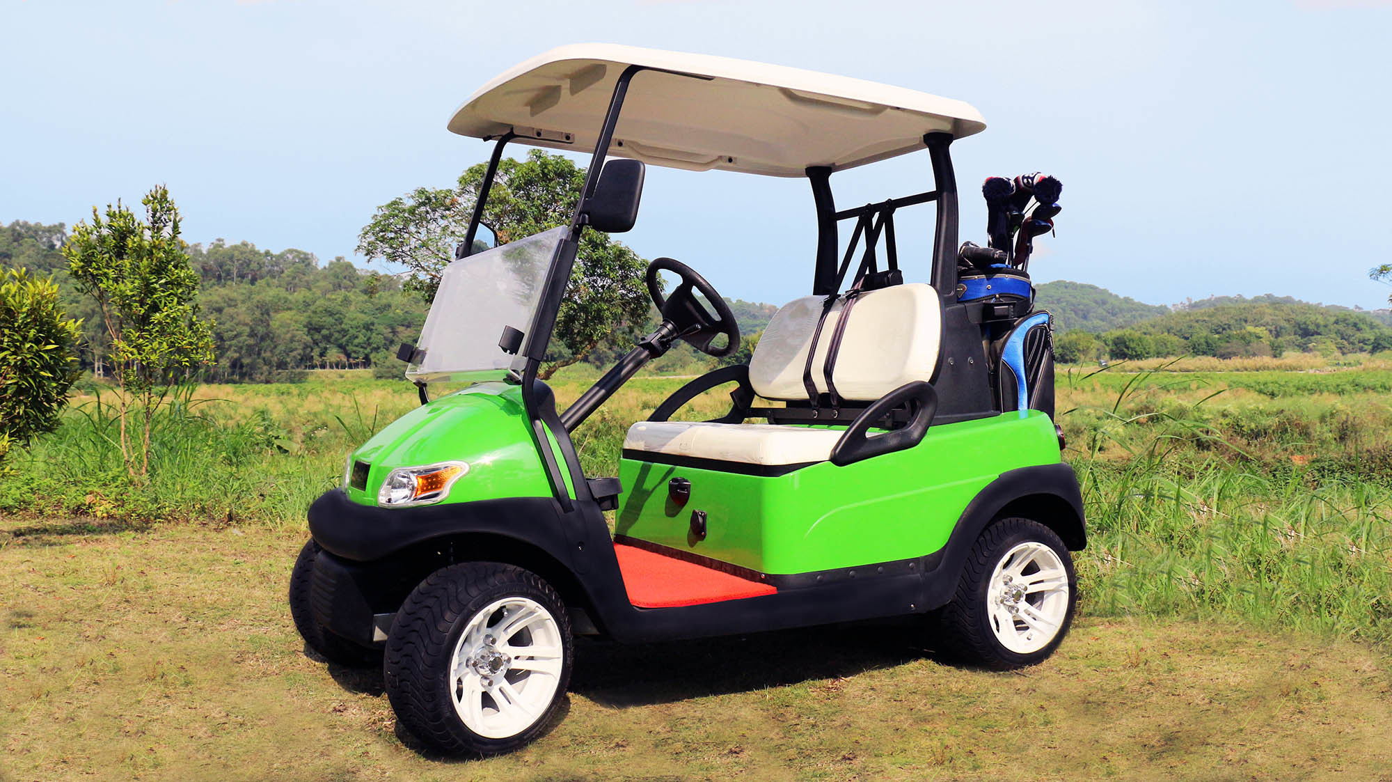 Aluminium Chassis Club Car 2 Seater Electric Golf Car