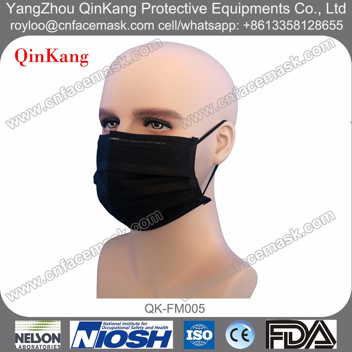 Medical Disposable Active Carbon Surgical Mask, Face Mask, Disposable Face Mask