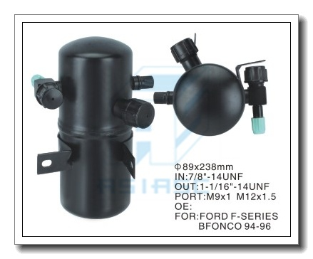 Accumulator for Auto Air Conditioning (Steel) 89*238