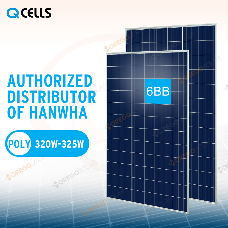 Hanwha Q-Cells Poly Solar Panel / Product Energy System 320W 325W