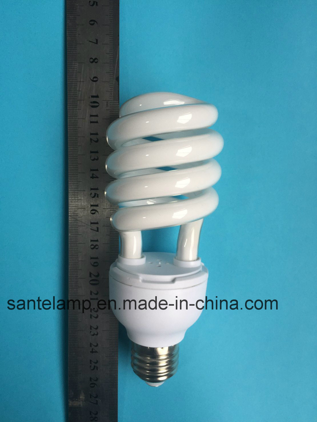 Energy Saving Lamp 24W Half Spiral Halogen/Mixed/Tri-Color 2700k-7500k E27/B22 220-240V