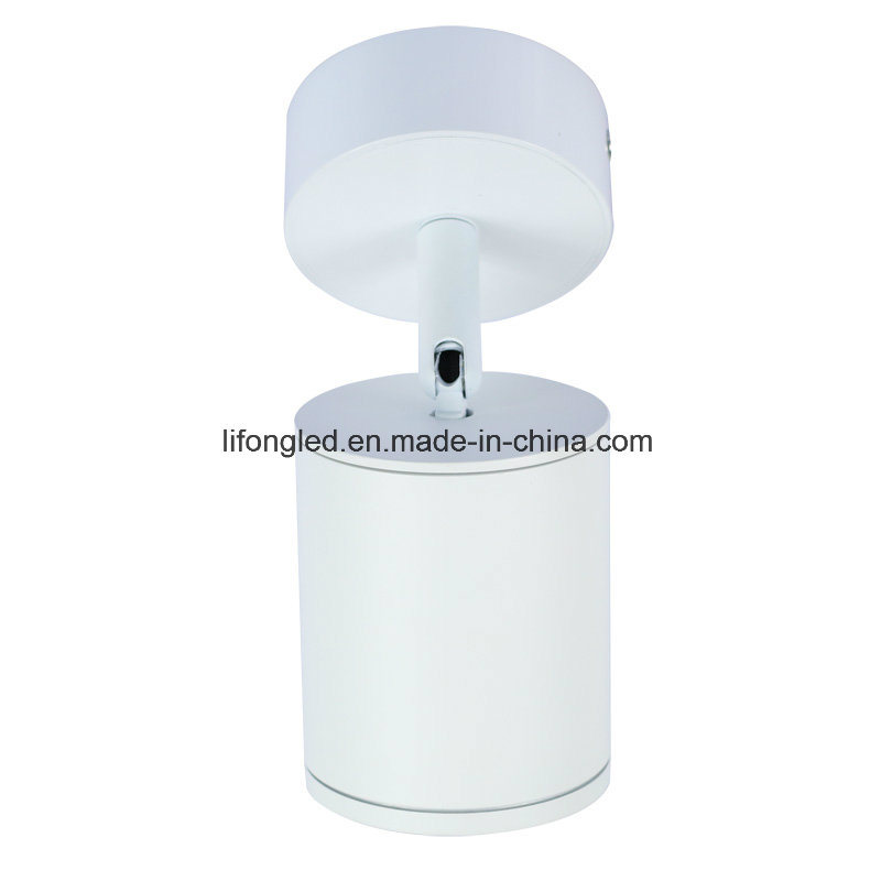 360 Degree Adjustable Round COB LED Downlight White or Black Finish AC100-240V