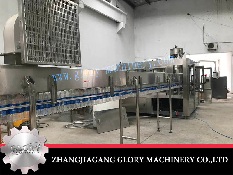 Automatic Carbonated Drink Bottling Machine with Wrapping
