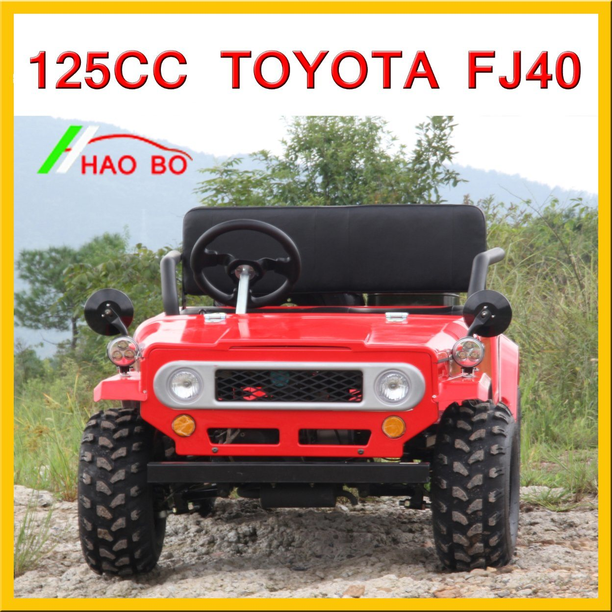 125cc Toyota Land Cruiser for Adult