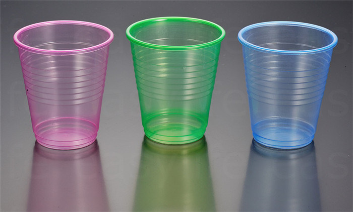 7oz (200ml) C077380 Disposable PP/PS Plastic Colorful Cup