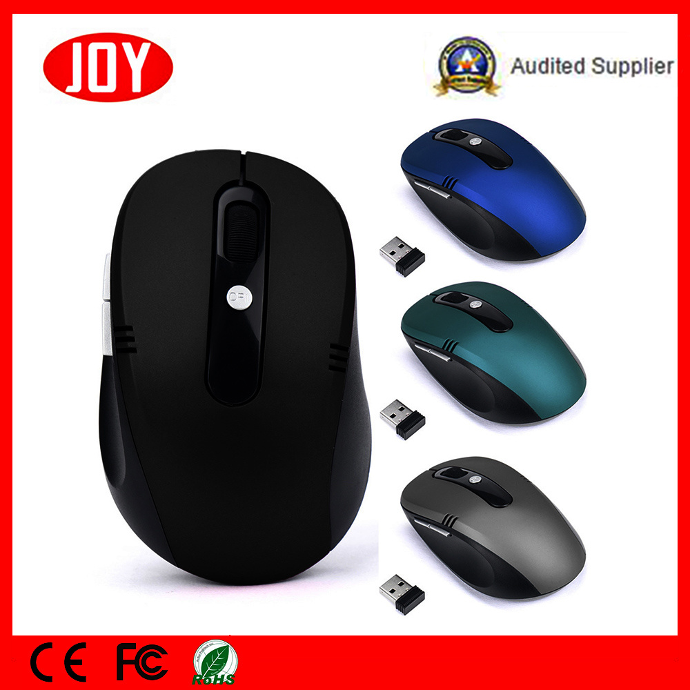 New Products 2.4G Optical 6D Wireless Mouse Jo27 Mini Mouse Factory in China