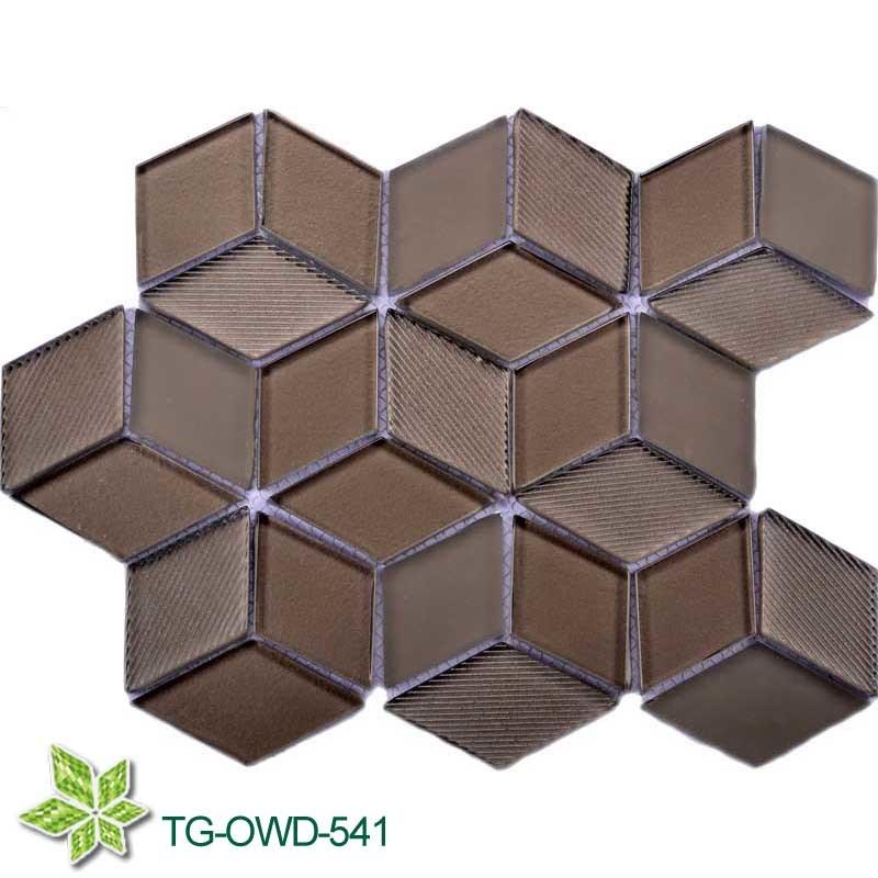 Diamond Glass Mosaic (TG-OWD-541)