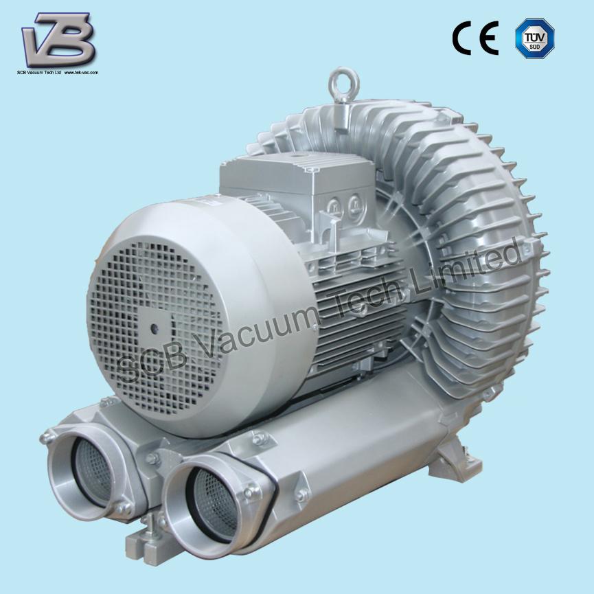 Side Channel Centrifugal Compressor for Hopper Agitation