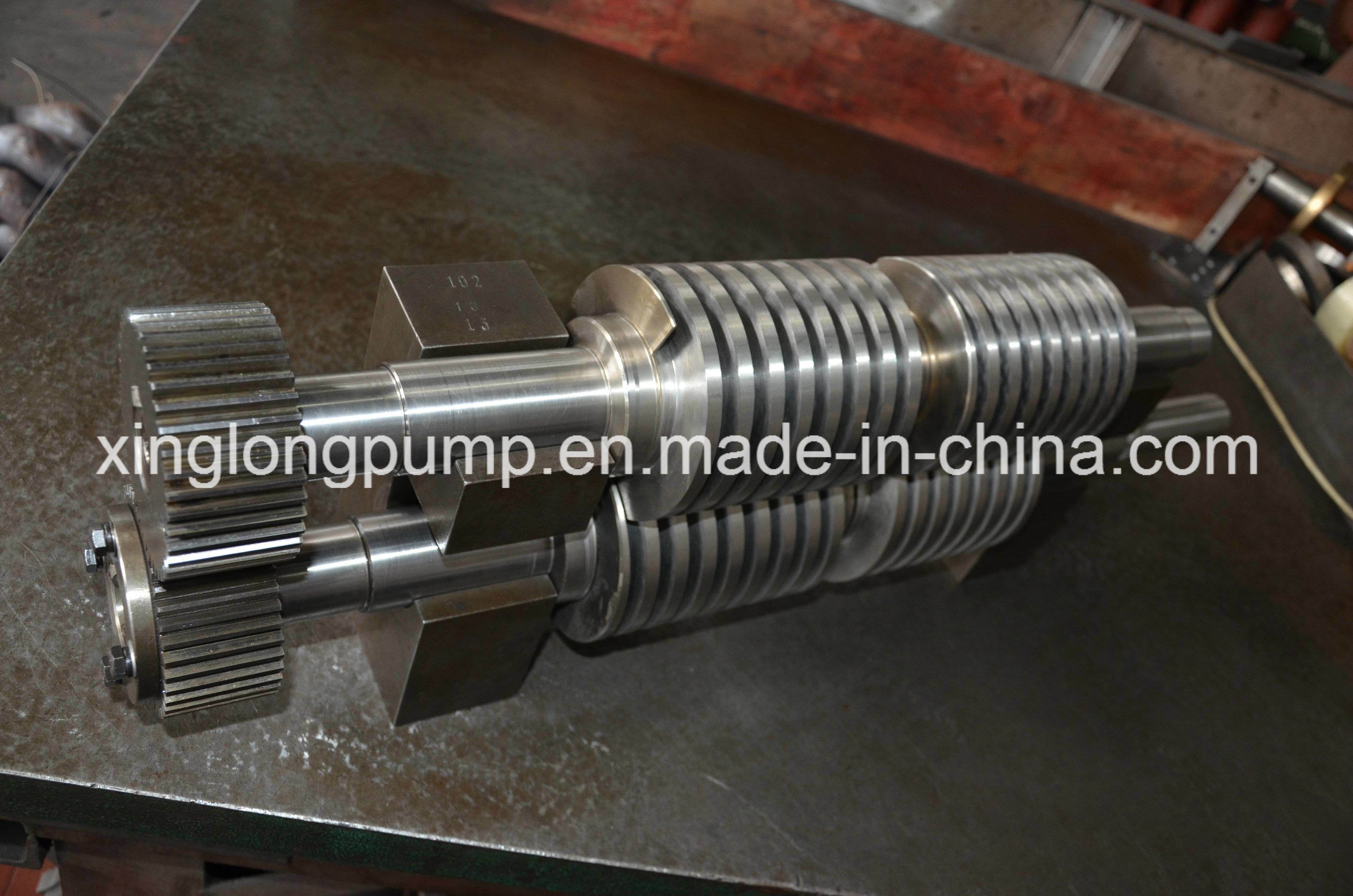 Rotor of Twin Screw Pump