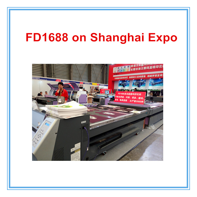 Factory Price Flatbed T-Shirt Printing Machine Fd1688