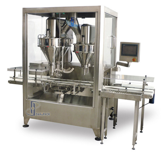 Automatic Super Speed Auger Metering Powder Filling Machine