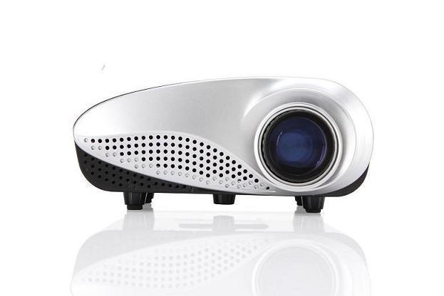 Yi-800 Mini Multifunctional Classics LED Mini Projector 60 Lumens Beamer for TV Movie Video Home Cinema HDMI USB VGA AV ATV Projetor