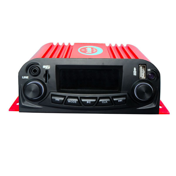 OEM Service Car Motorcycle Amplifier with Bass Treble