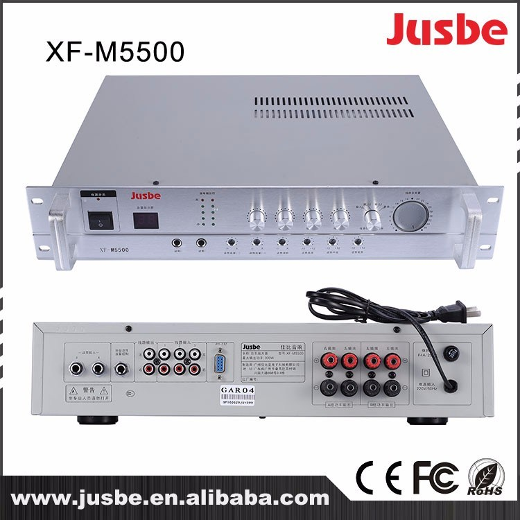 Xf-M5500 2.4G Class D Acitve Tube Power Amplifier