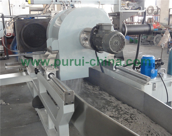 Heavy Printed PE Film Plastic Recycling Granulator Machine