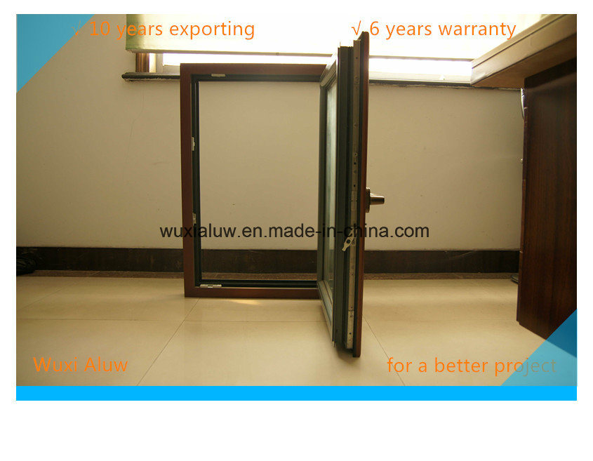 Double Color Thermal Break Aluminum Window