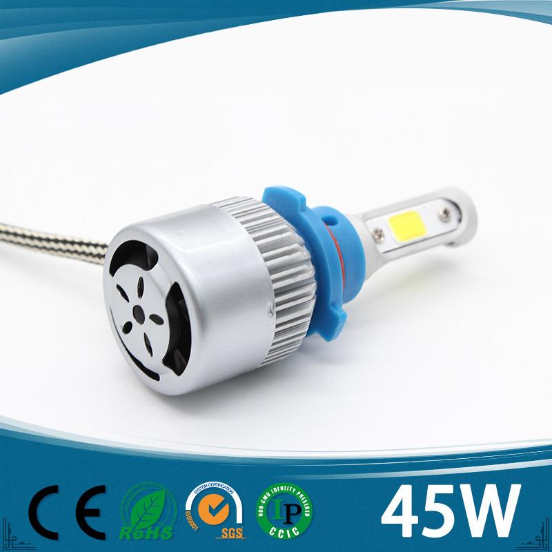 3 Sides Best Factory Wholesale Highest Quality COB Car LED Headlight