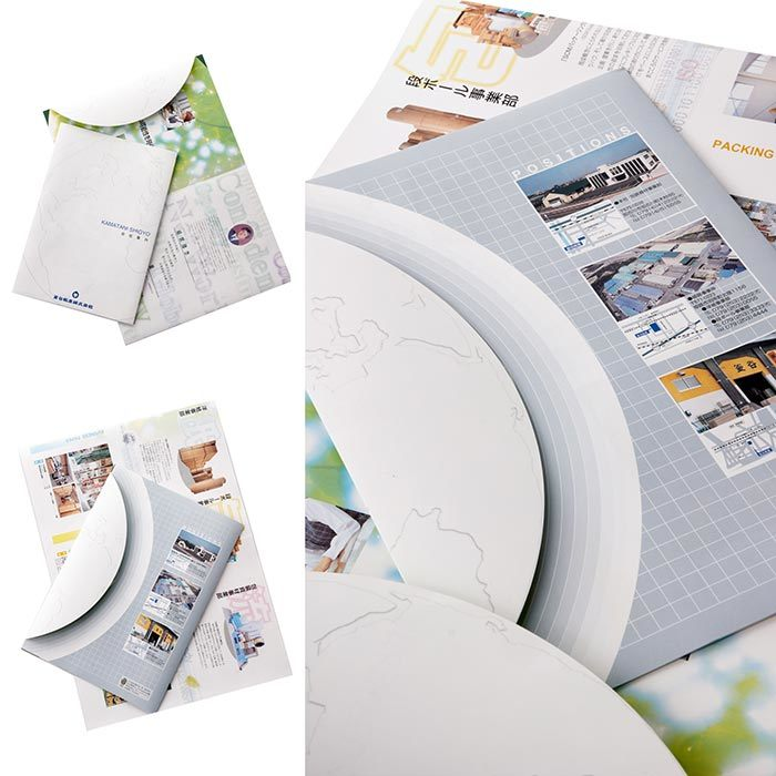 Environmental Friendly Stone Paper (RPD-100) Rich Mineral Paper Double Coated