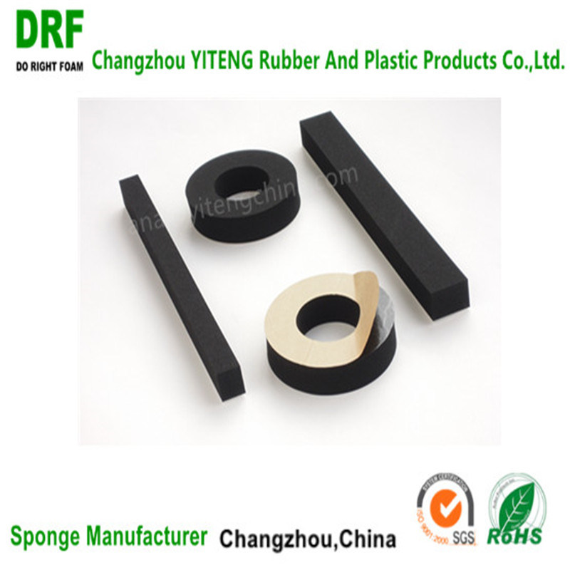 Neoprene for Auto Parts, Cr Foam for Spare Parts with Adhesive