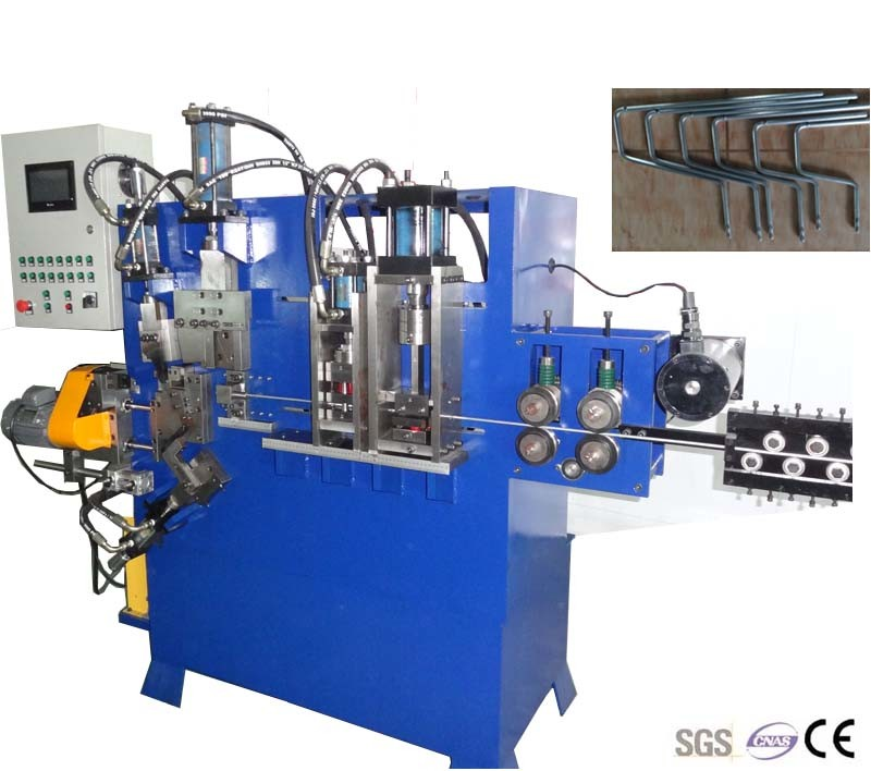 Automatic Hydraulic Metal Wire Brush Roller Handle Bending Making Machine