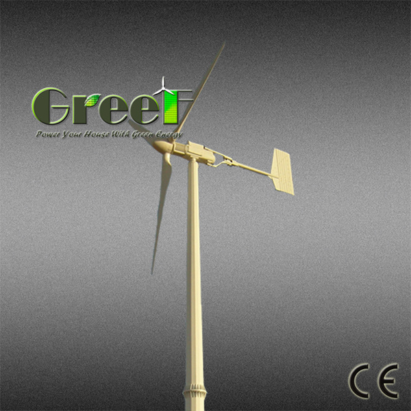 5000W Small Wind Generator System with Controller and Inverter