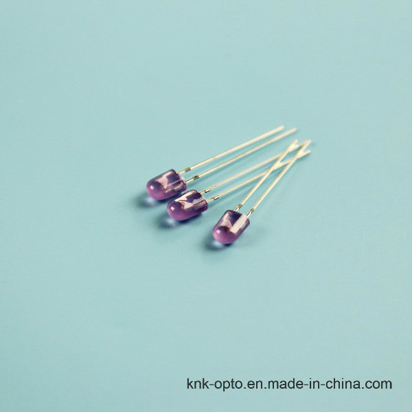 5mm Oval Purple Diffused LED