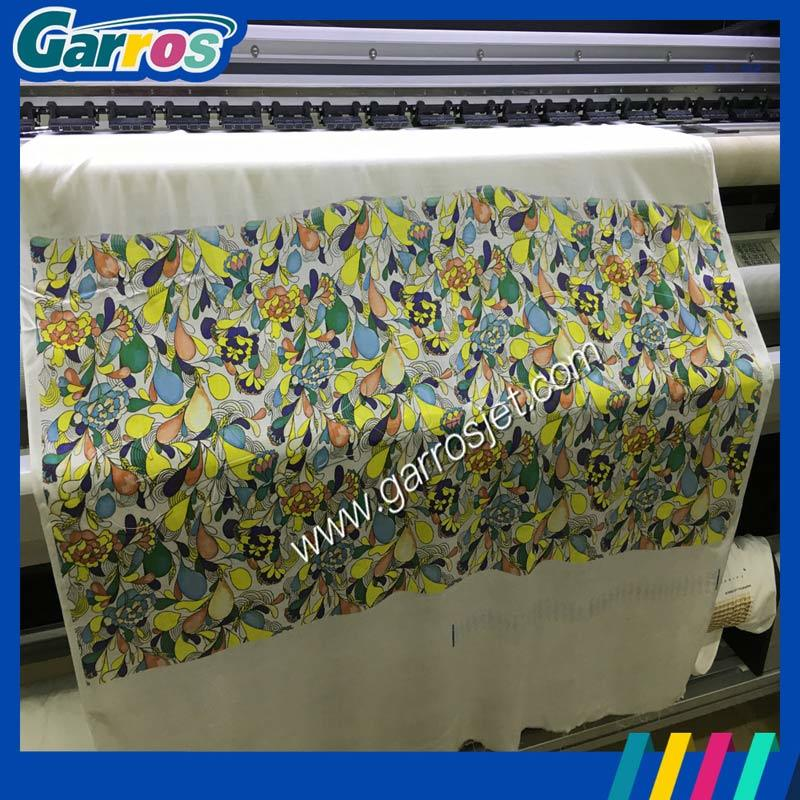 Garros 1.6m Inkjet Direct Digital Textile Belt Printer with Double Print Head