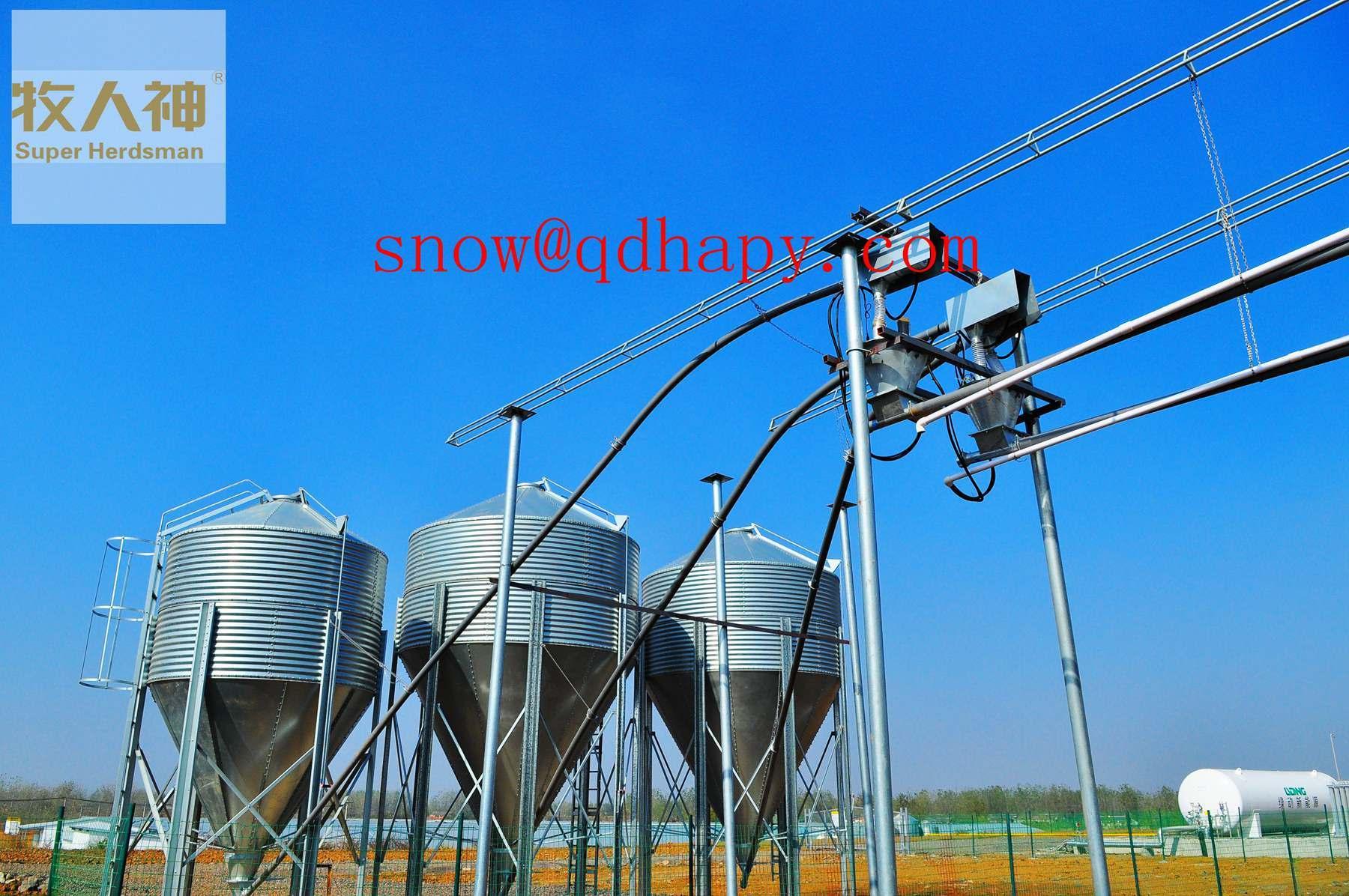 Steel Silo in Breeding System From Super Herdsman