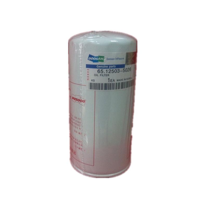 65.05510-5022 De08tis Oil Filter for Doosan Engine Auto Spare Parts