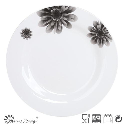 Ceramic Cheap New Design Porcelain Plate