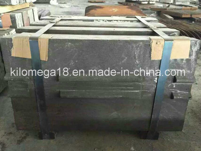 High Chrome Manganese Impact Crusher Blow Bars for Sale