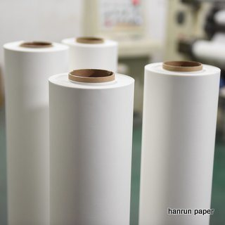 Instant Dry 45g Sublimation Transfer Paper Roll/Mini Jumbo Roll for Textile