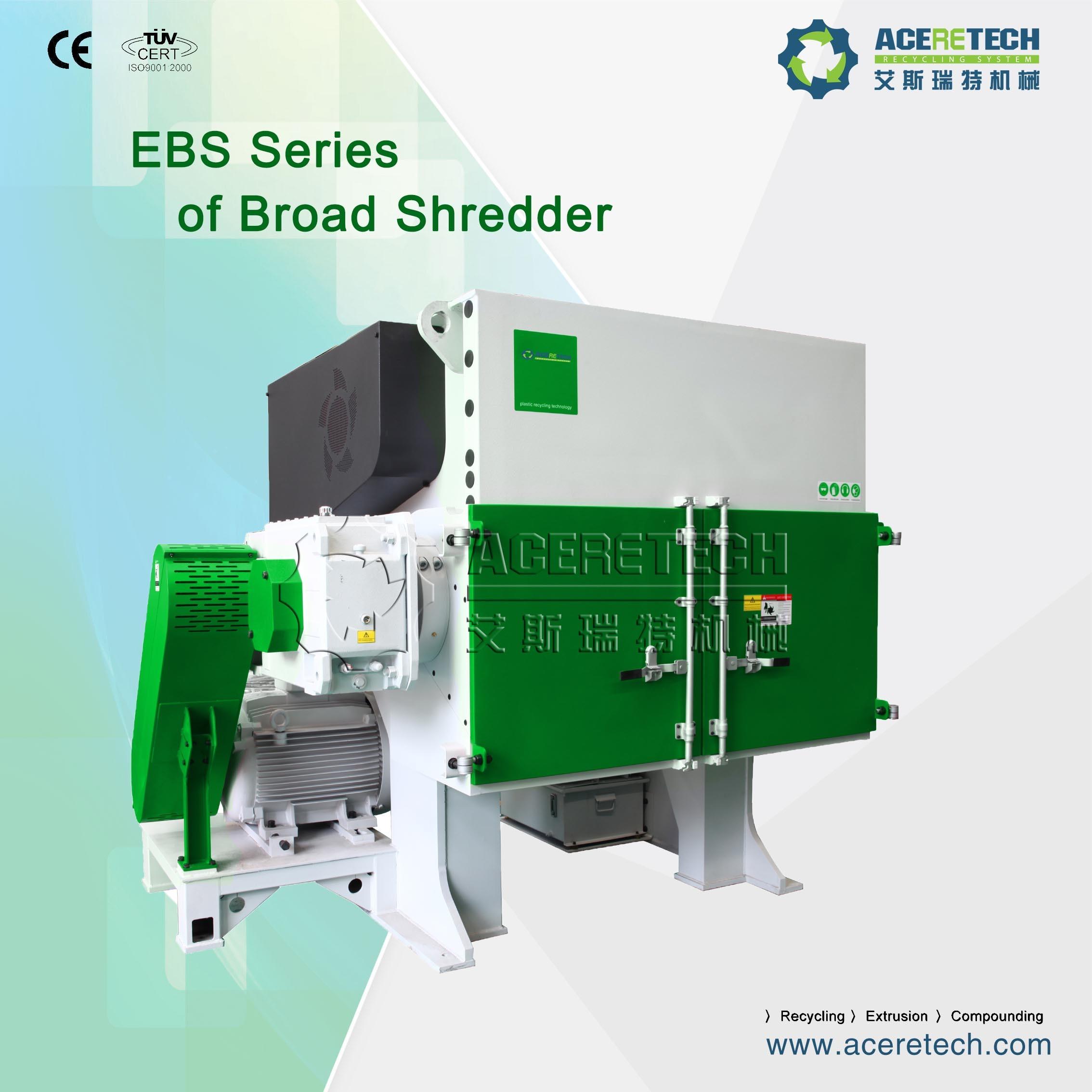 Single Shaft Shredder Plastic Recycling for Boards