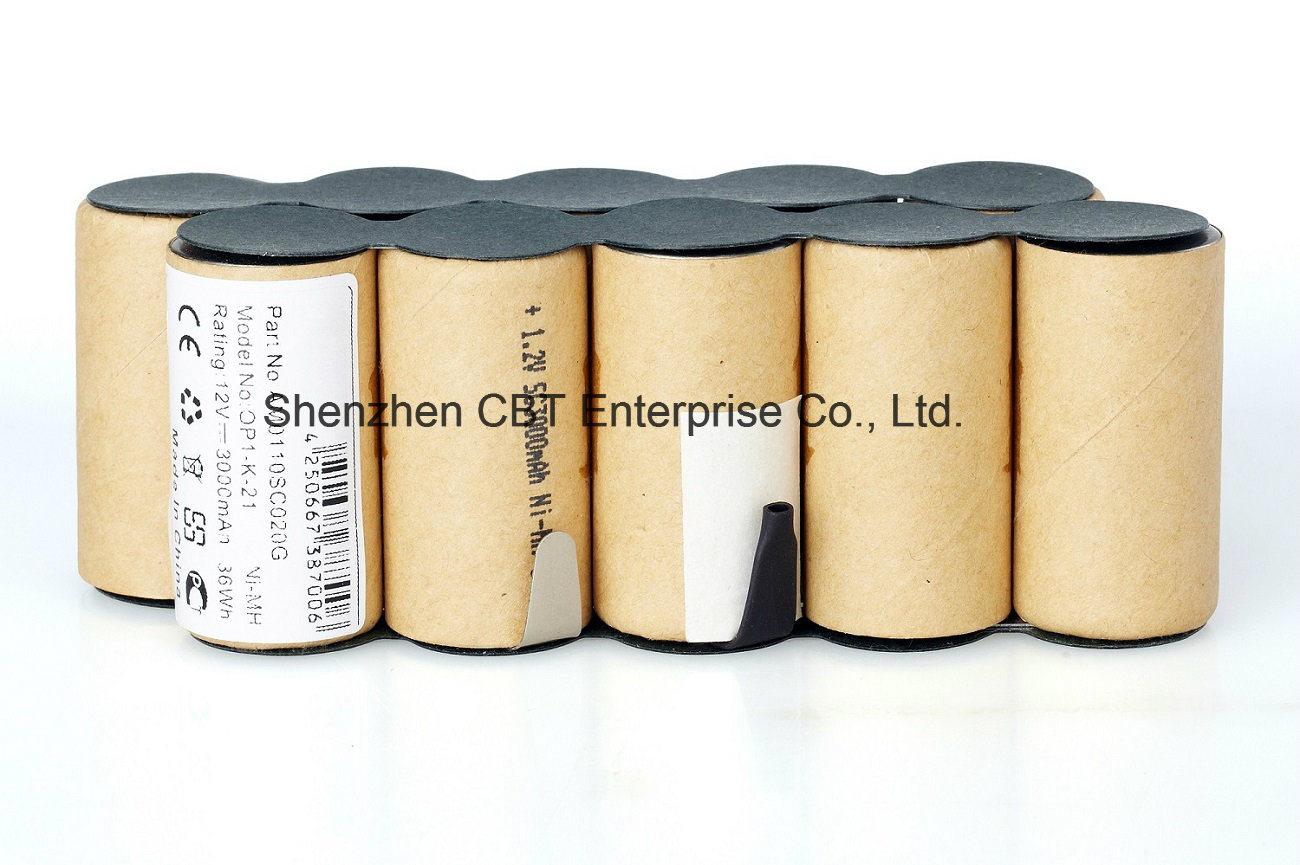 Garden Tools Battery for Gardena Ap12 Cells Pack