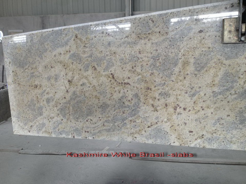 New Kashmir White Granite Countertops for Kitchen/Bathroom (YY- GC007)