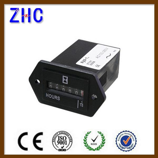 Sys-1 Hour Meter Counter Mechanical Display Meter for Motor or Enigneer