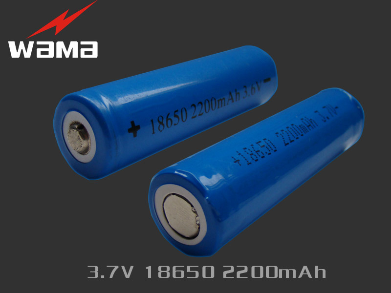 High Quality 3.7V 2400mAh Lithium Ion 18650 Battery
