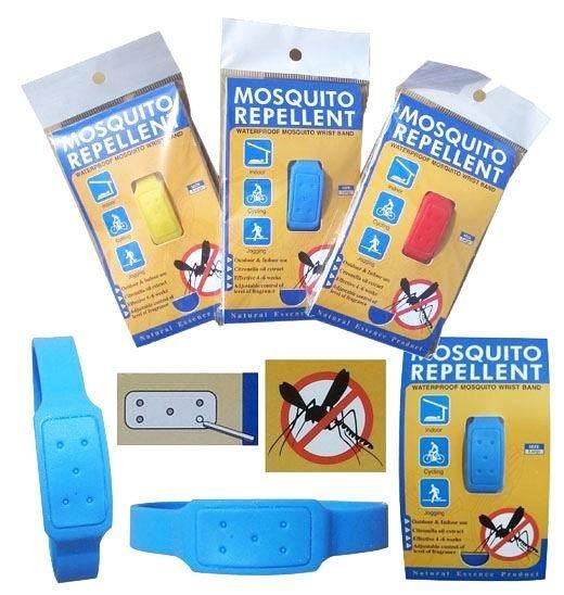 Innovative Effective Natural Silicone Mosquito Repellent Citronella Wristband