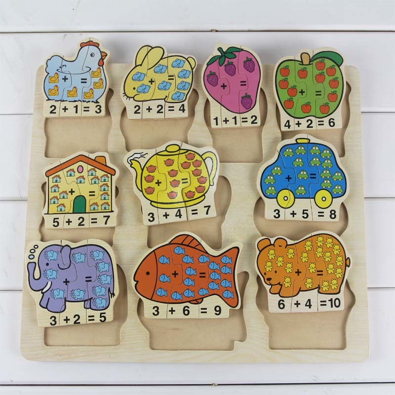 Educational Wooden Puzzle Toys for Kid (TS 6538)