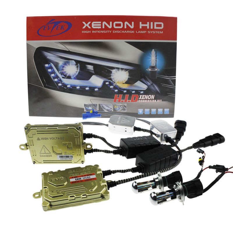 Evitek HID Xenon Canbus Kit with Zero Error Xenon 55W Ballasts and Bulbs